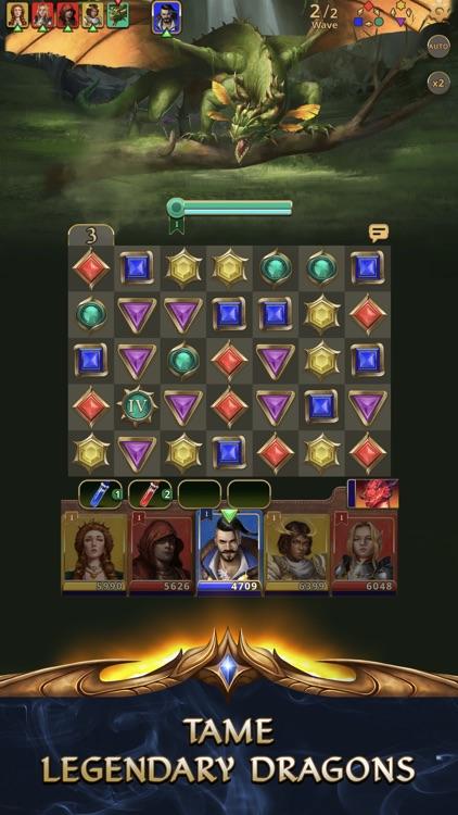 Gemstone Legends - Match 3 RPG screenshot-4