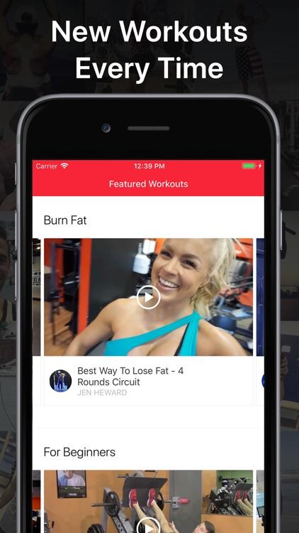 MyTraining Workout Tracker Log screenshot-5