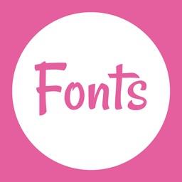 Texty: Fonts Generator