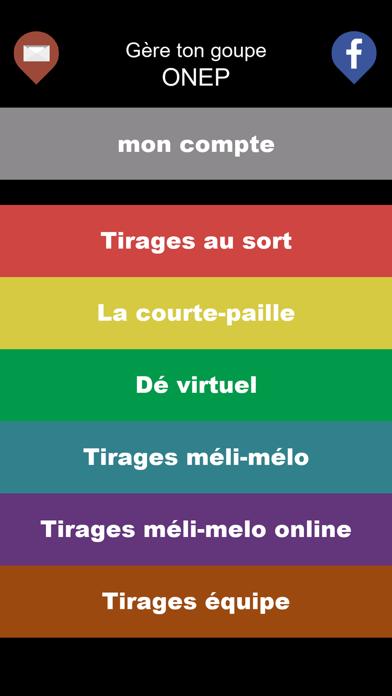 Screen Shot Tirage au sort 0