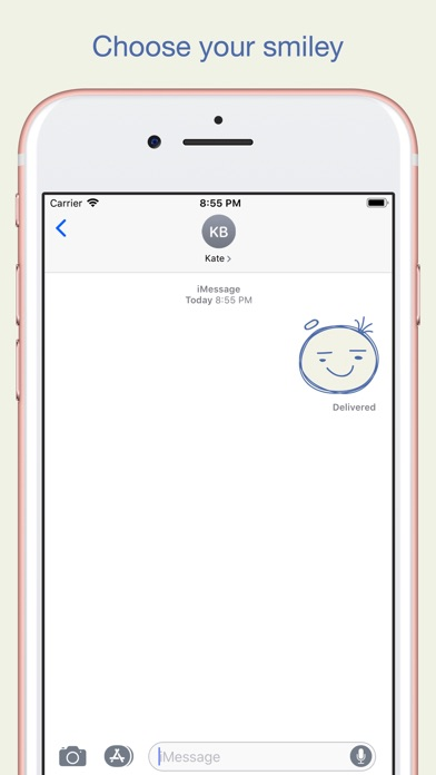 Sketch Smiley Emoji Stickers screenshot 5