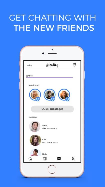 Friending - Make New Friends screenshot-5
