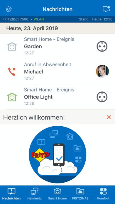 MyFRITZ!AppScreenshot von 1