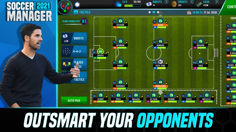Soccer Manager 2021 screenshot-4