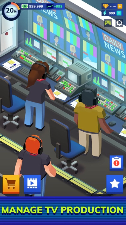 TV Empire Tycoon - Idle Game screenshot-4