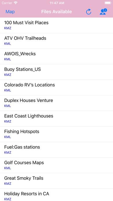 Screenshot for KML & KMZ Files Viewer in Azerbaijan App Store