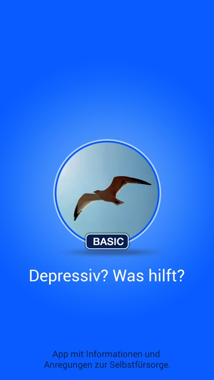 Depressiv? Was hilft? Basic