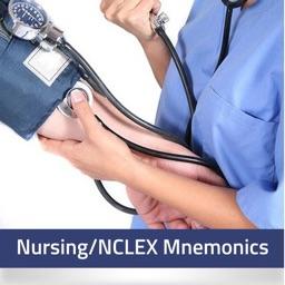 NCLEX RN Nursing Mnemonics