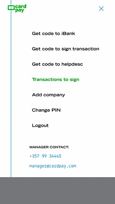 Screenshot #4 for CardPay - Digipass