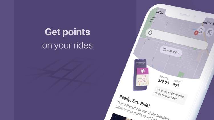 Freebird: Rideshare cash back