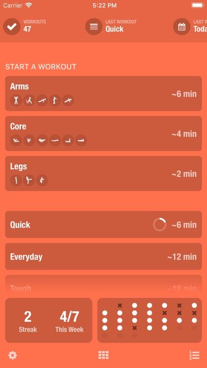 Streaks Workout screenshot-0