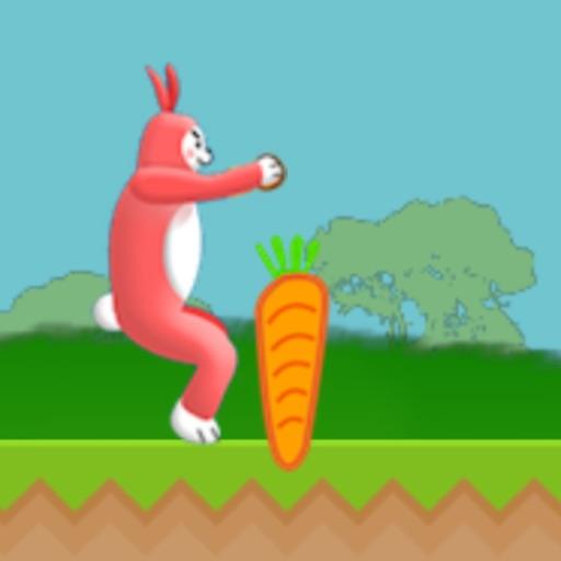 超级兔子人:冒险跑酷游戏!