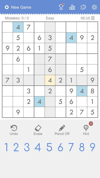 Sudoku - Brain Puzzle Games screenshot-5