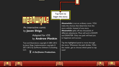 download Meanwhile: Interactive Comic apps 0