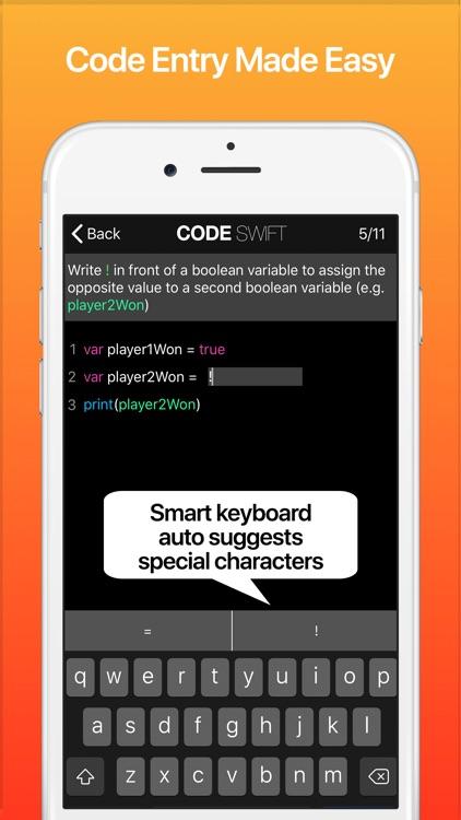Code! Learn Swift Version screenshot-8