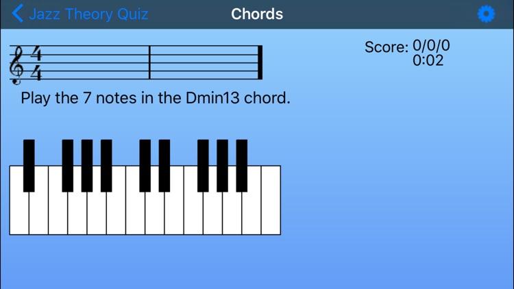 Jazz Theory Quiz