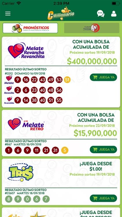 CM Pronósticos y Lotería screenshot-3