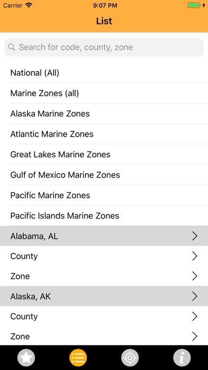 NOAA Alerts Weather PRO