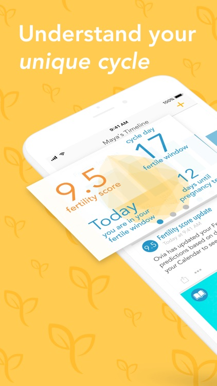 Ovia Fertility Period Tracker