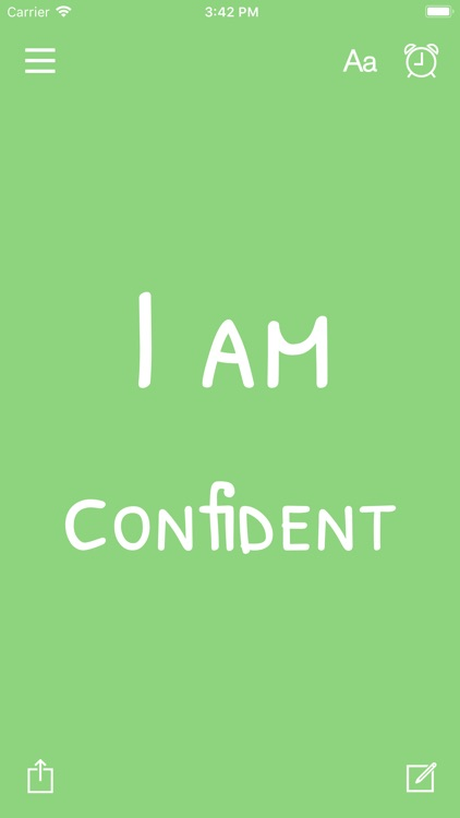 I am - Daily Affirmations by Monkey Taps