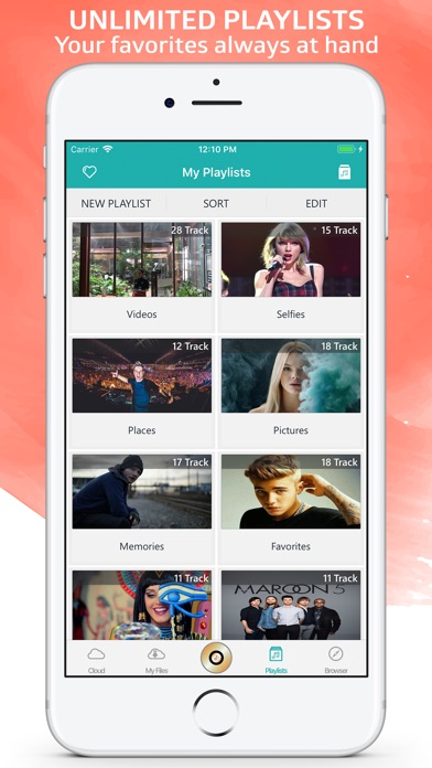 MyMedia: Cloud Music & Browser-3