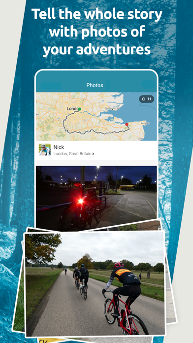 Map My Tracks: run tracker proのおすすめ画像5