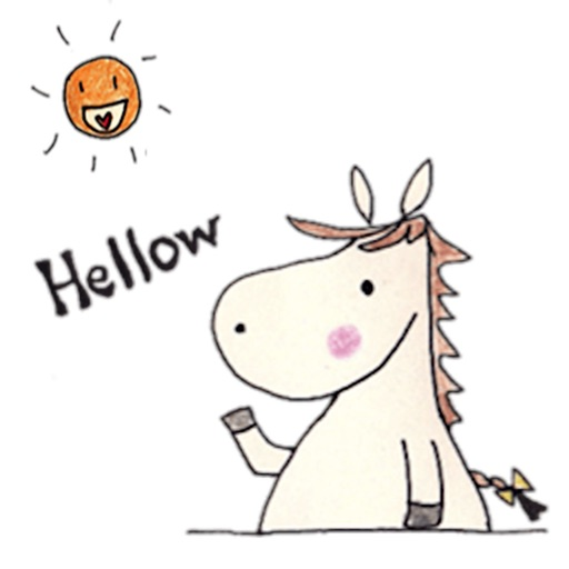 Daily Life of Cute Horse Icons icon