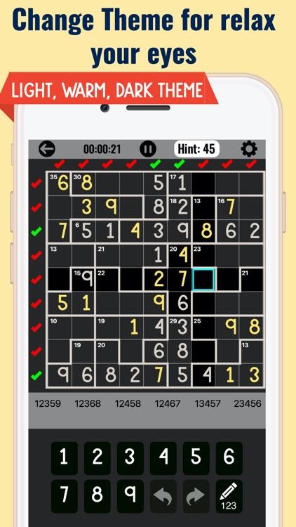 Killer Sudoku Puzzle Games screenshot-4