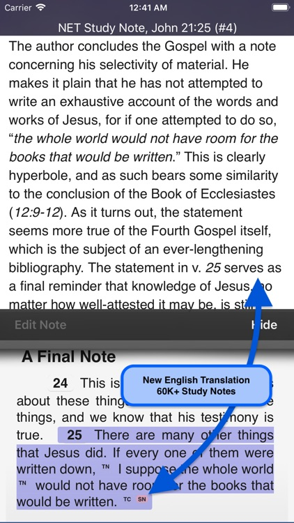 Touch Bible Loaded: Study App screenshot-5