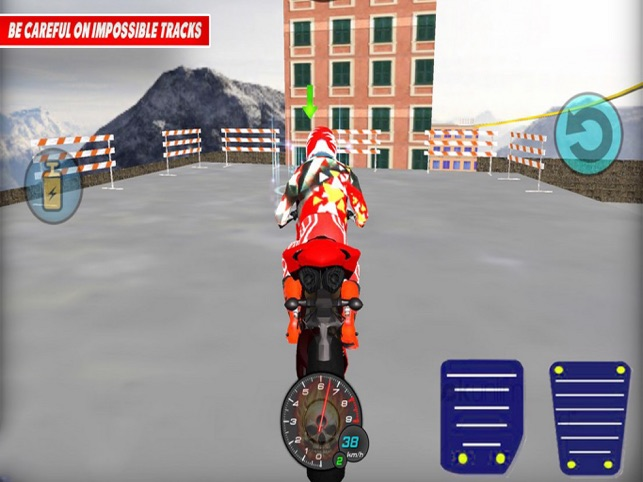 Bike Epic Driving Stunting, game for IOS