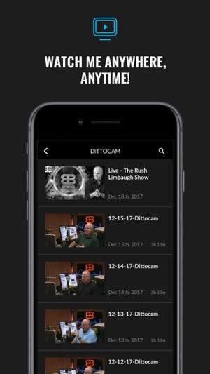 Rush Limbaugh on the App Store