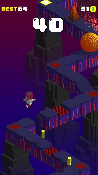 Screen Shot Blocky Gang Run Of The Tomb 3