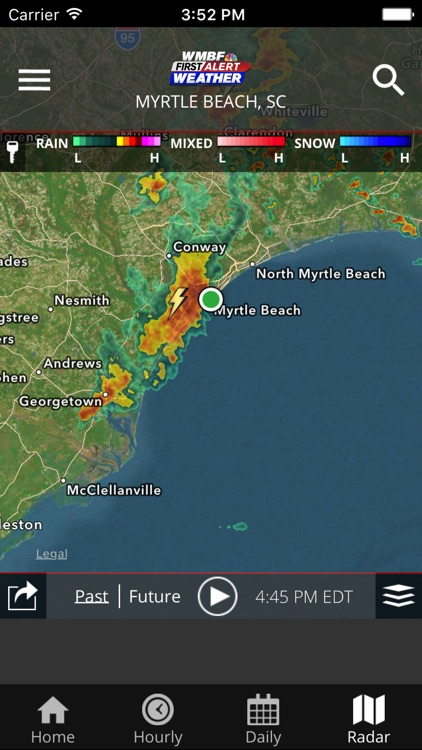 WMBF First Alert Weather screenshot-4