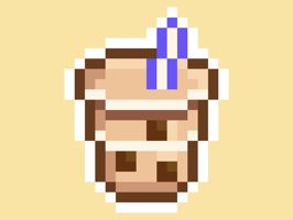 Pixel Desserts is a charming way to pick out your favorite sweets & drinks