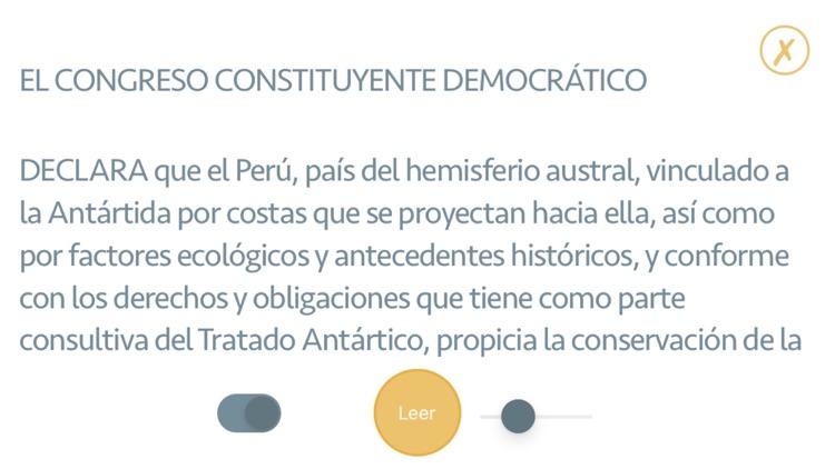 Constitución Política del Perú screenshot-3