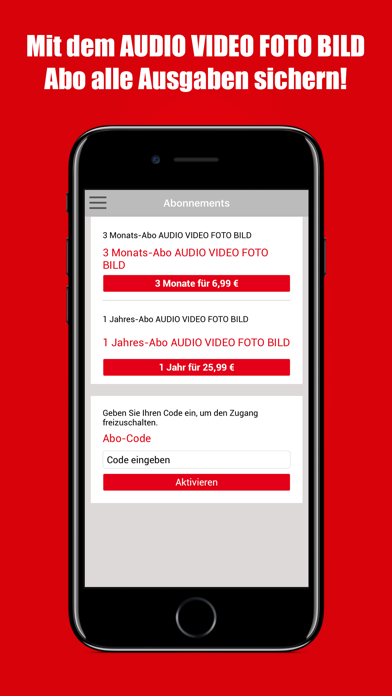 Download AUDIO VIDEO FOTO BILD Reader for Android