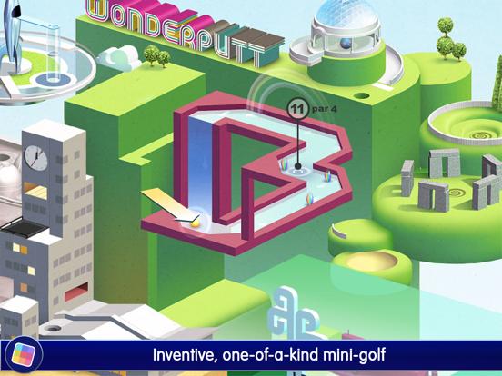 Screenshot #6 pour Wonderputt - GameClub
