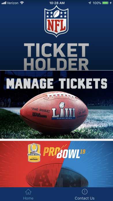 NFL Ticketholder screenshot 1