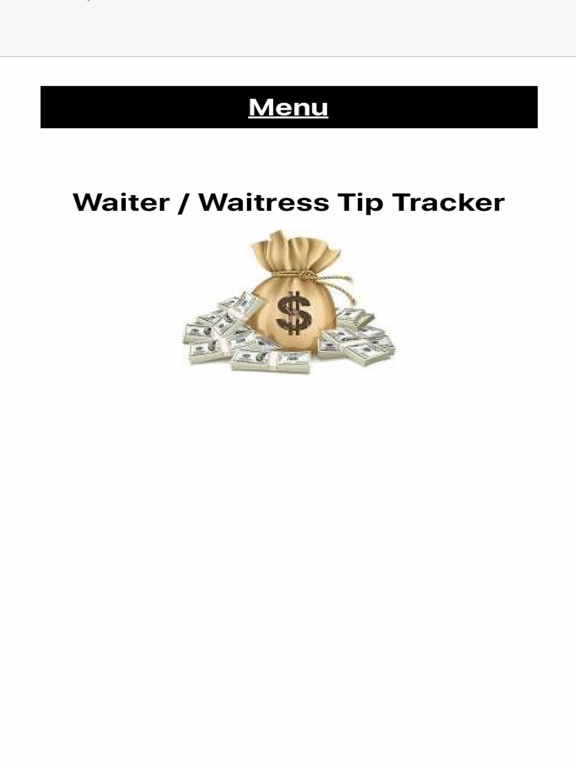 Waiter's Tip Tracker Screenshots