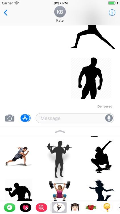 Stickers For Bodybuilding screenshot-4