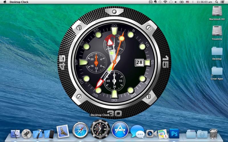 Desktop Clock Live Screenshot