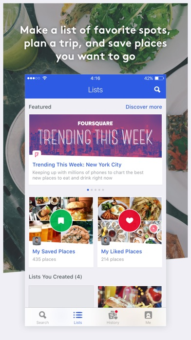 Screenshot for Foursquare City Guide in United Arab Emirates App Store
