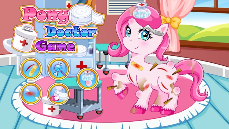 Pony doctor games