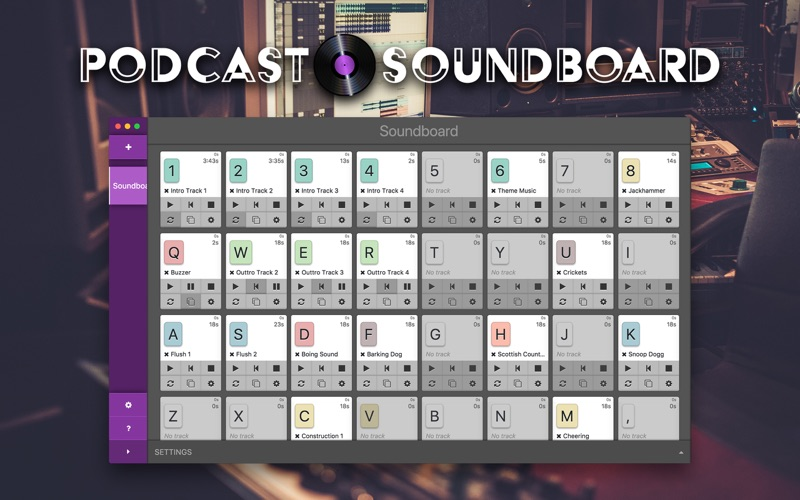 Podcast Soundboard for Mac