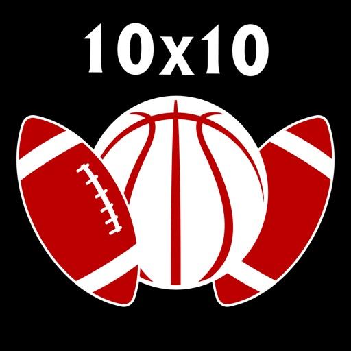 10x10 Sports Squares - Pool