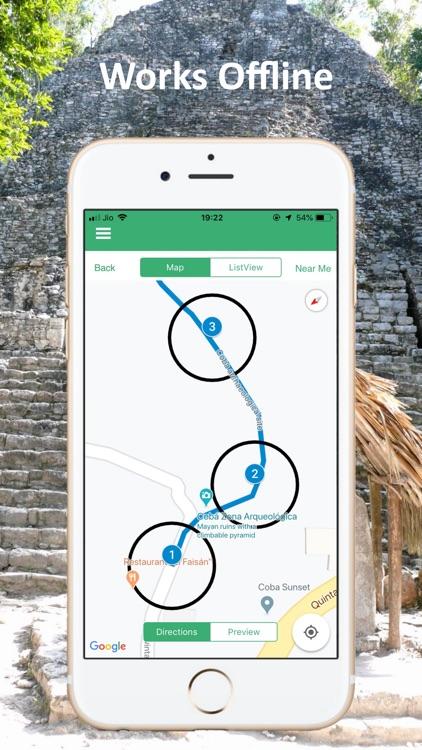 Coba Ruins Cancun Mexico Tour screenshot-6
