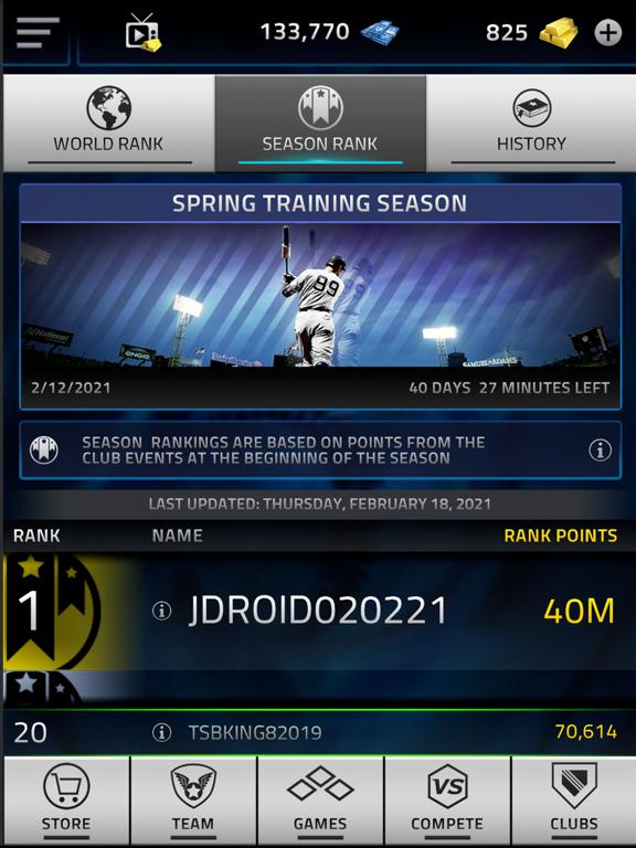 iPad Image of MLB Tap Sports Baseball 2021