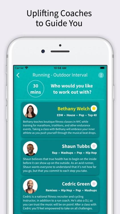 CardioCast: Audio Fitness App