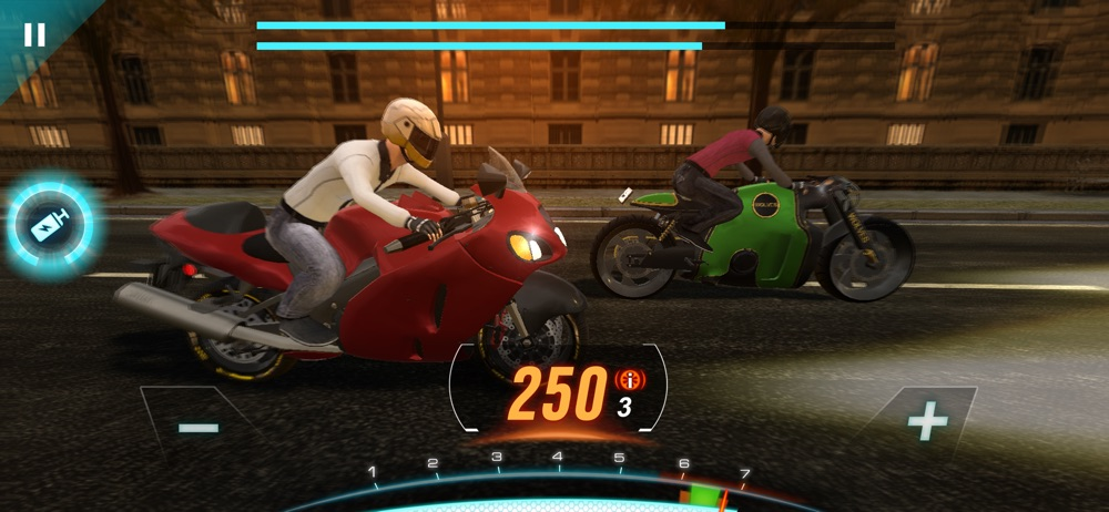 Motorbike: Traffic & Drag Race