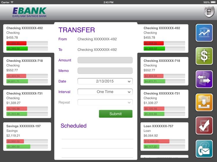EBANK Mobile for iPad screenshot-3
